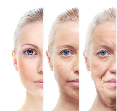 Objawy starzenia się skóry